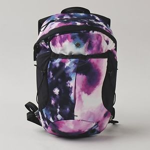 RARE Lululemon Blooming Pixie Run All Day Backpack